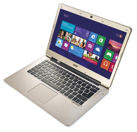 Aspire S3 Ultrabook Instant On. Instant Connnect. Ultrabook inspired by Intel Aspire S3-391 P/N: NX.M1FSA.007-C77 Intel Core i3 3217UB processor 13.