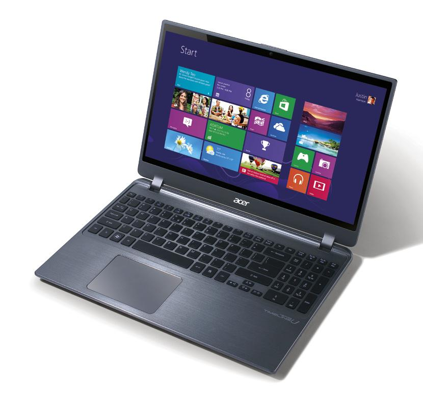 Ultrabook Acer recommends Windows 8.