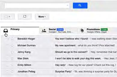Jimmy Kim Page 27 #5: Staying Out of the Promotions Tab The default Gmail inbox has a promotions tab people barely open. You ve likely seen it before. And you want your emails to stay out of it.
