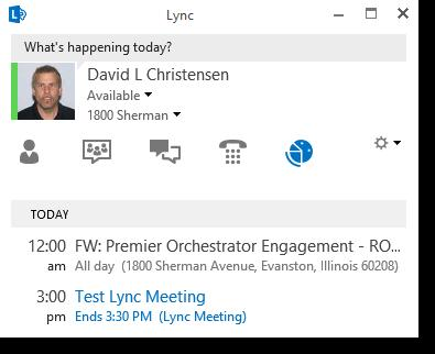 How to join: From an Outlook Reminder From the Join Lync Meeting link Lync Meetings: