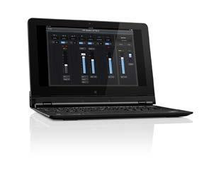 You only need to connect the ipad and the Sennheiser LSP 500 PRO with an existing wireless network and you can start operating your LSP 500 PRO directly from the