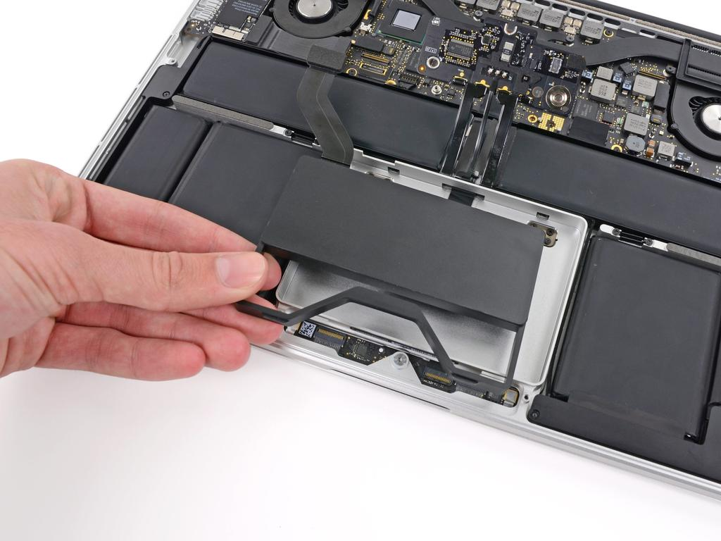 Step 12 Remove the SSD assembly from the