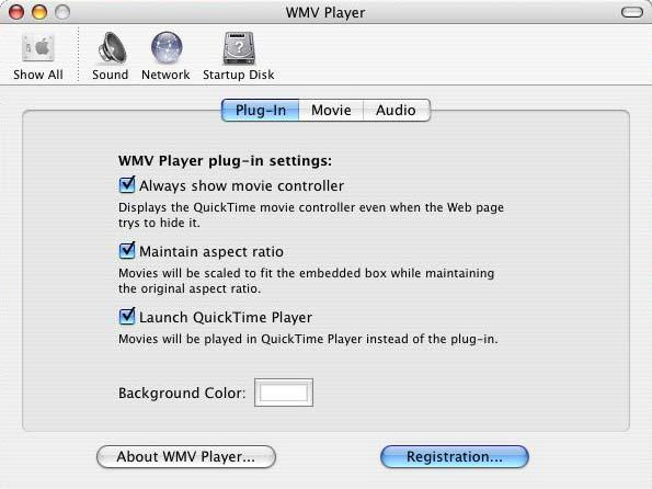 Purchase Directly in WMV Player If your Macintosh is connected to the Internet, the easiest way to purchase WMV Player or WMV Player Pro is directly in WMV Player.