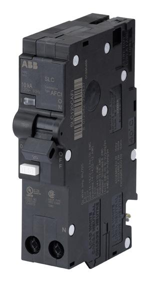 SENTRICITY LOAD CENTERS AND CIRCUIT BREAKERS 9 Combination Arc Fault Circuit Interrupters (AFCIs)/ Class A Ground Fault Circuit Interrupters (GFCIs) SENTRICITY s AFCI breakers detect series and