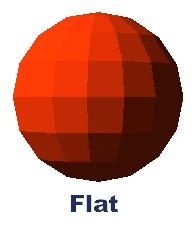 Flat Shading Constant shading Very fast Very simple Does not look very