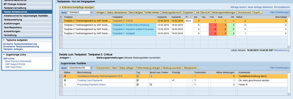 Testmanagement with the sap solution manager by kate pdf test execution test execution with the work center ta smworkcenter 1 2 1 malvernweather Image collections