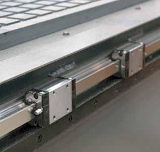 Base Frame A solid-steel frame design is standard on the popular 1000 Series CNC Router.