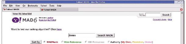 Our offline test is biased to Web ranking, since we use Yahoo! Search click data.