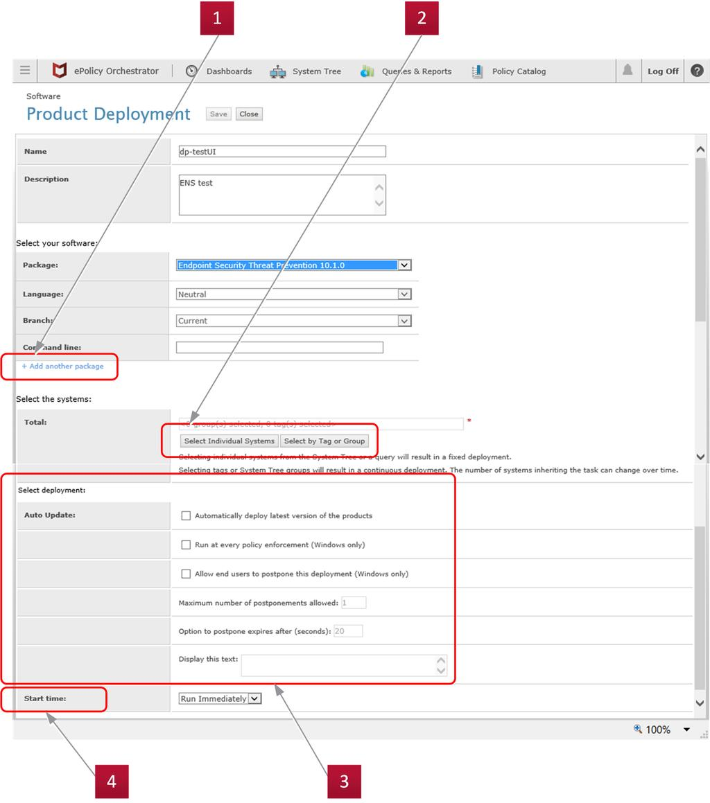 Mcafee epolicy orchestrator release notes pdf choose the type of deployment these configuration settings were removed and the setting is now configured 1betcityfo Gallery