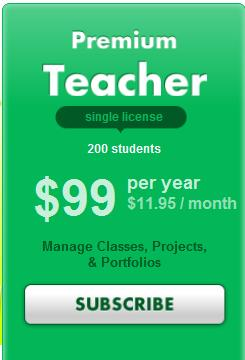 1.1.2 R E G I S T E R A S P R E M I U M T E A C HE R Click on the SUBSCRIBE button on this banner to access the Premium Teacher registration