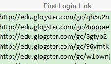 Copy and, paste the First Login Link into the web browser and the Student s account will appear. 3.6.1.2.