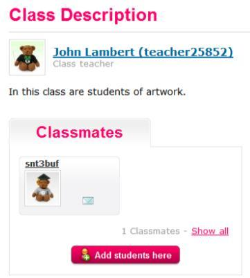 The student will be moved to right side of the window. To confirm the selection, click the Assign Classmates button. A pop-up will appear to confirm the update.