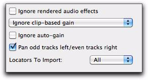 Importing RTAS Plug-in Data From AAF Sequences Avid Media Composer (version 5 and higher) lets you process audio tracks with RTAS (Real Time AudioSuite) plug-ins. Pro Tools 9.