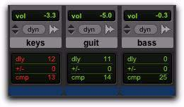 System Delay Pro Tools adds the exact amount of delay to each track necessary to make that particular track s delay equal to the total System Delay.
