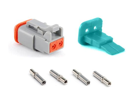 Plug, & Contacts End Caps with Reduced Diameter Seal Overmolded option page Or Choose a Plug & Receptacle