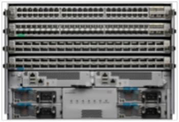 Cisco Nexus 9500 Platform Features and Benefits The Cisco Nexus 9500 platform is a modular chassis that supports up to 16 line cards, 2 supervisor modules, 2 chassis controllers, 3 fan trays, 6