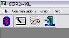 The CORD-XL software handles the programming of the CORD-XL for recording, data transfer and graphical data analysis.