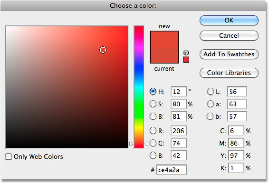 This time when the Fill dialog box appears, change the Use option to Color: Change the Use option to