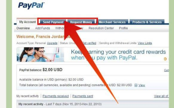 Methods for Receiving Payments PayPal allows its users to receive payments through a number of ways.