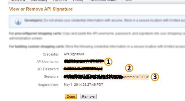 On the page that appears after requesting credentials a link will appear asking the user to Request API
