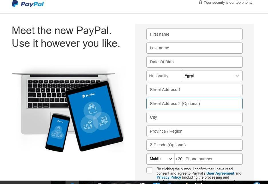 PayPal Verification A verified account enables the user to enjoy a larger range of features than a non-verified one.