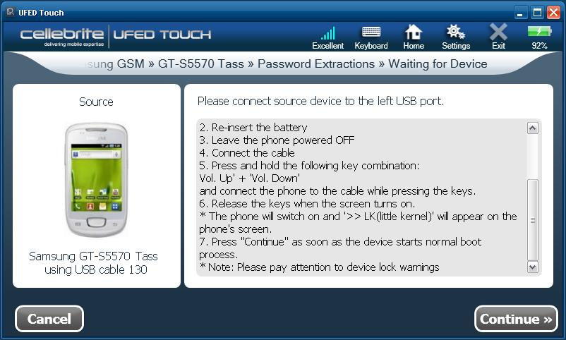 UFED Touch User Manual March PDF