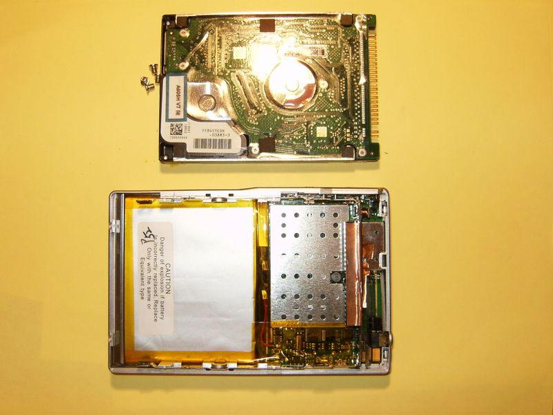Remove the hard drive completely from the Archos.