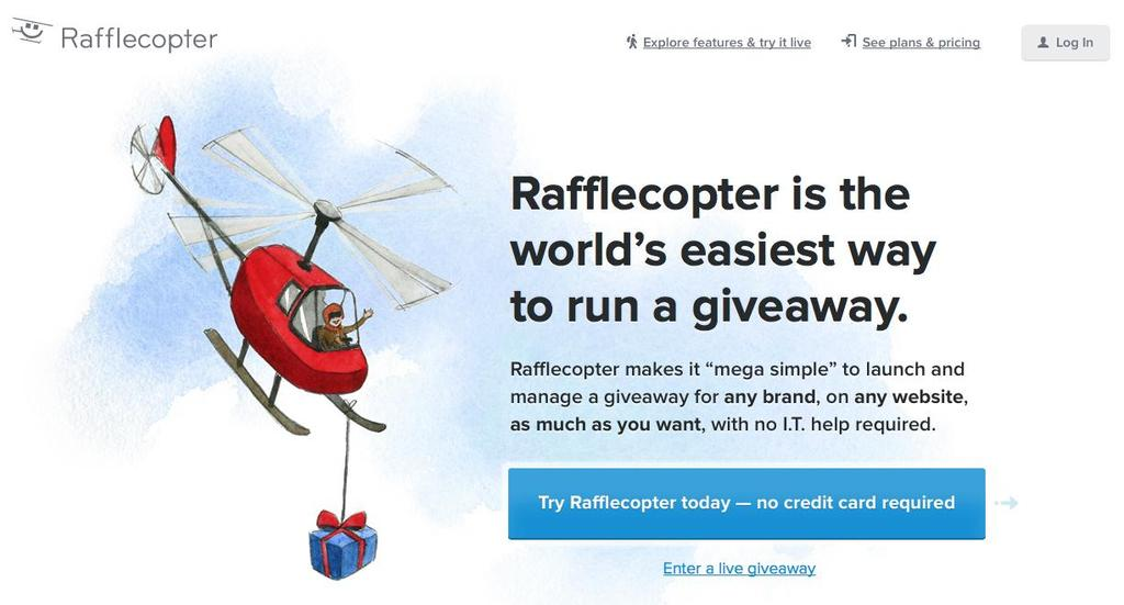 Another similar system is Rafflecopter: >> http://www.rafflecopter.