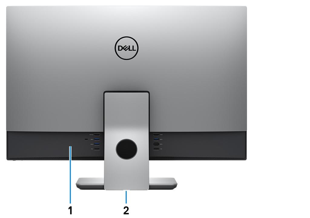 NOTE: You can customize the power-button behavior in Power Options. For more information, see Me and My Dell at www.dell.