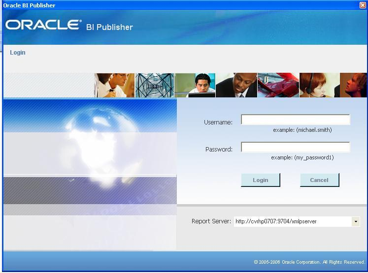 o Select Report server and provide