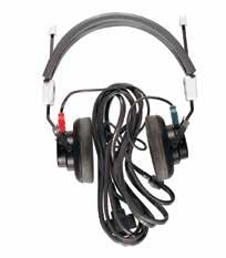 P EP Stimulators Headphones, Lightweight & Shielded Acoustically shielded, TDH-39, 10-ohm