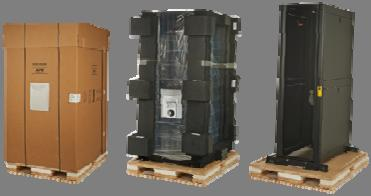 Enclosures with Shock Packaging ack and stack made Easy for Equipment Integrators and