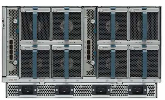 Step 1: Determine Power Configuration B Series: The UCS B Series chassis includes four, single