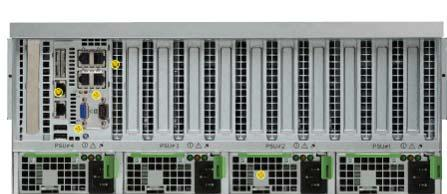 servers are similar to traditional rack mount servers.