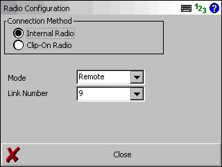 Set the controller to Remote mode (since the instrument is in Base