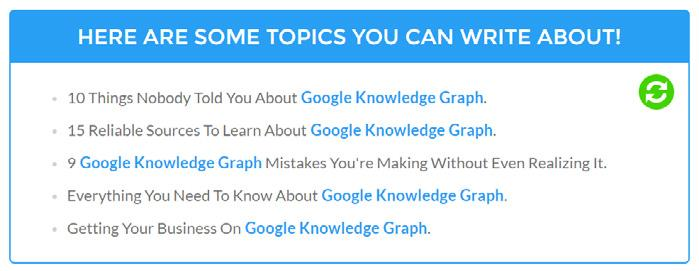 Case Study #1 How To Get Your Business On Google Knowledge Graph Back then when we just started content marketing on SEOPressor, we re really interested on Google Knowledge Graph.