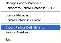 Setting up Paribus Discovery for Microsoft Dynamics CRM Step 2: Importing Paribus Definitions for Microsoft Dynamics CRM Databases The Paribus matching processes are supported by a collection of