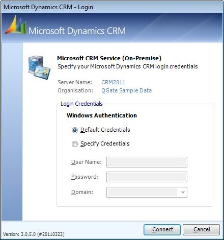Processing Duplicate Records in Microsoft Dynamics CRM Performing a CRM Database Connection Test Whilst defining new database connections or editing existing one, the Connection Settings dialog