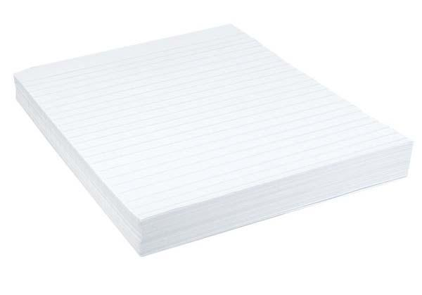 00 Embossed Pencil Writing Paper White paper with raised