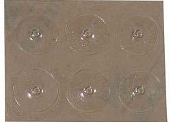 self-adhesive plastic dots are the size of a Braille dot. 201031 $3.