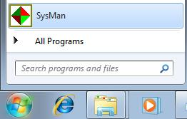 Once the installation has completed, you will be asked if you wish to start SysMan right away.