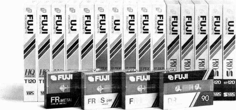 THE GOOD STUFF. For a Fuji dealer, 1988 will be a year filled with great stuff Because no one is putting as much behind their audio and video tapes as Fuji.