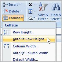Modifying Columns, Rows, and Cells Excel 2007 Lesson 3: Modifying Columns, Rows, & Cells Page 1 When you open a new, blank workbook, the cells, columns, and rows are set to a default size.