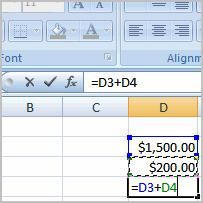 Creating Simple Formulas Excel 2007 Lesson 5: Creating Simple Formulas Page 1 Excel can be used to calculate and analyze numerical information; however, you will need to know how to write formulas to
