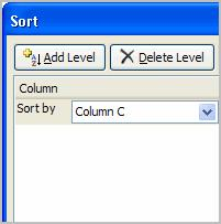Sorting, Grouping, and Filtering Cells Excel 2007 Lesson 10: Sorting, Grouping, and Filtering Cells Page 1 A Microsoft Excel spreadsheet can contain a great deal of information.
