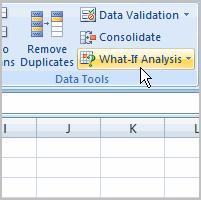 Using What-if Analysis Excel 2007 Lesson 15: Using What-If Analysis Page 1 The real power in Excel comes in its ability to perform multiple mathematical calculations for you.