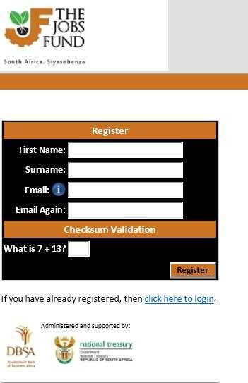 Make sure you have enabled popups on your browser For first time registration click on the