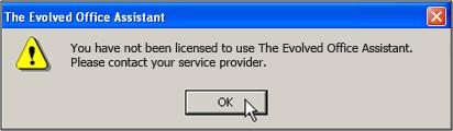 Figure 83 License Notification Assistant is Not Visible in Internet Explorer If the Assistant toolbar is not visible in Microsoft Internet Explorer, follow these steps: 1.