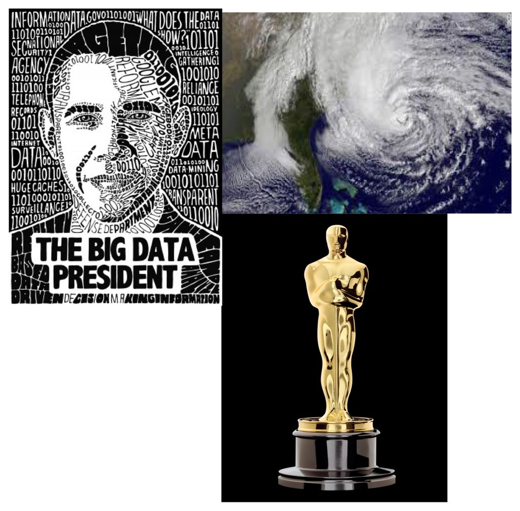"Big data becomes Real data Big Data became real in 2013 Obama ""the Big Data President"" Oscar prediction"