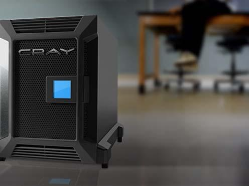 Cray CX1 Deskside Supercomputer Certified Cray Quality Best in Class Customer Experience Integrated